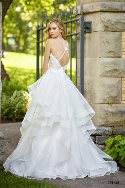 118156 mon cheri back - Wedding Dress - Geraldinne Style - Sydney Hornsby jpg